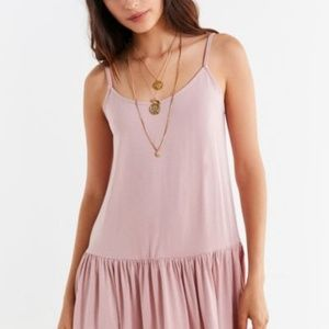 Urban Outfitters dress in blush